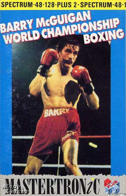 ZX Spectrum Games - Star Rank Boxing