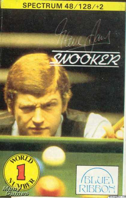 ZX Spectrum Games - Steve Davis Snooker