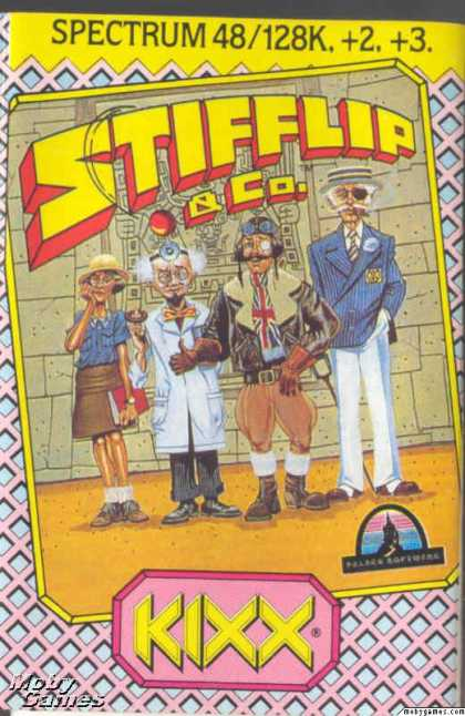ZX Spectrum Games - Stiff Lip & Co.
