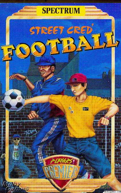 ZX Spectrum Games - Street Cred Football