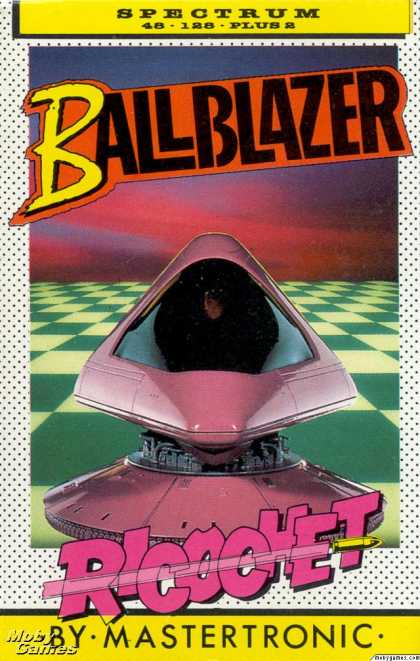 ZX Spectrum Games - Ballblazer