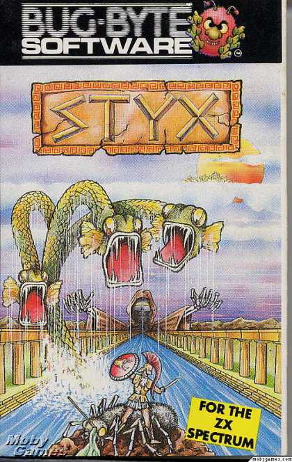 ZX Spectrum Games - Styx
