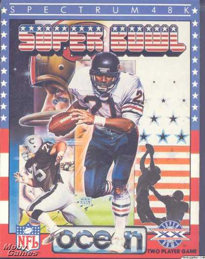 ZX Spectrum Games - Super Bowl