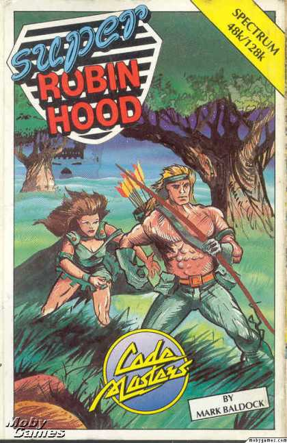 ZX Spectrum Games - Super Robin Hood