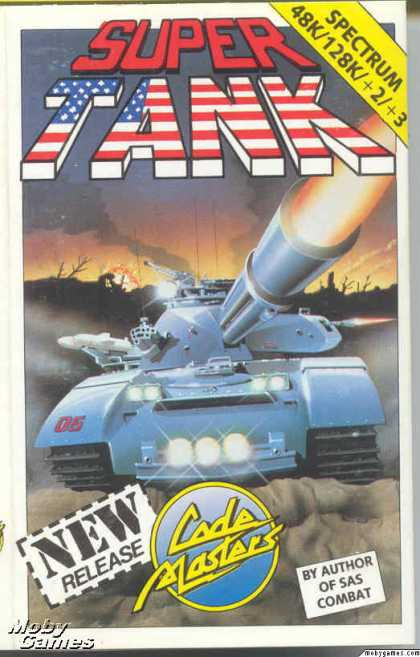 ZX Spectrum Games - Super Tank Simulator