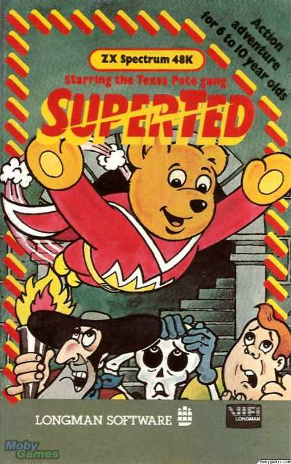 ZX Spectrum Games - SuperTed