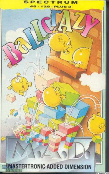 ZX Spectrum Games - Ball Crazy