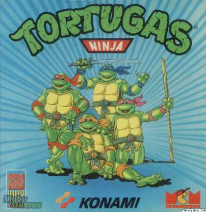 ZX Spectrum Games - Teenage Mutant Ninja Turtles