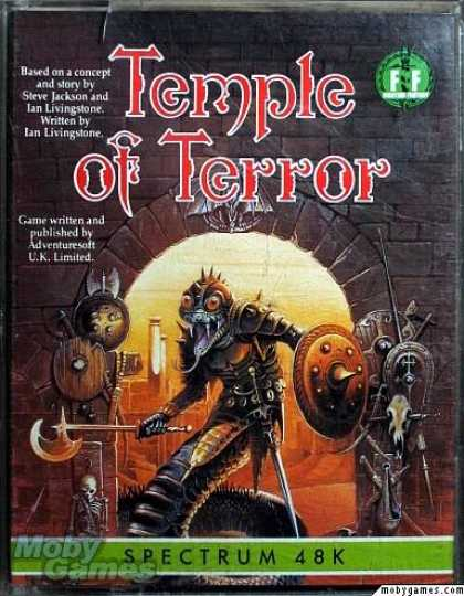 ZX Spectrum Games - Temple of Terror