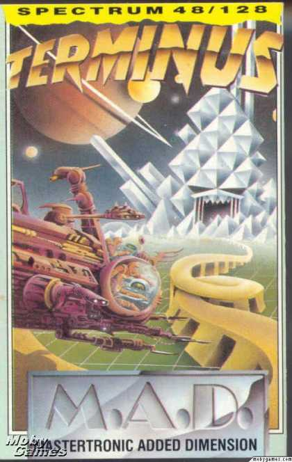 ZX Spectrum Games - Terminus: The Prison Planet