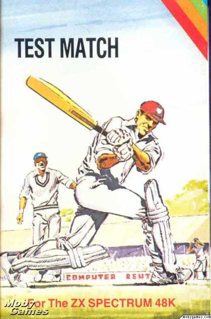ZX Spectrum Games - Test Match + One Day Cricket