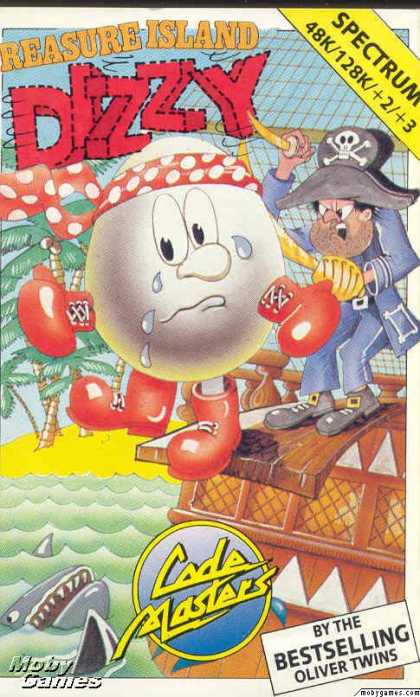 ZX Spectrum Games - Treasure Island Dizzy
