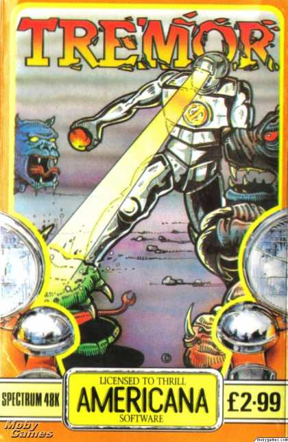 ZX Spectrum Games - Tremor