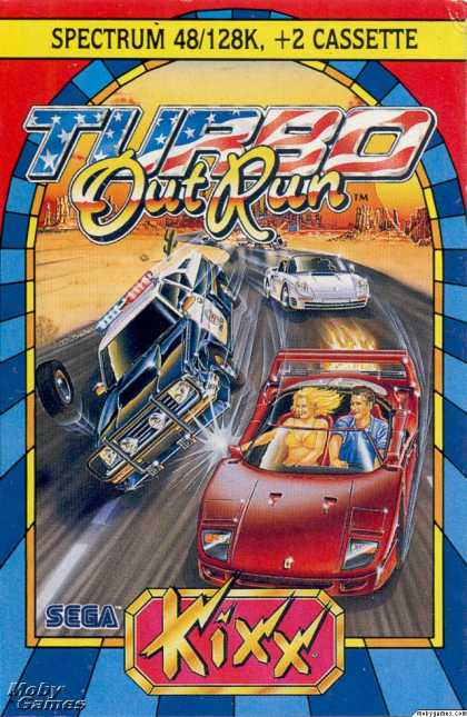 ZX Spectrum Games - Turbo Outrun