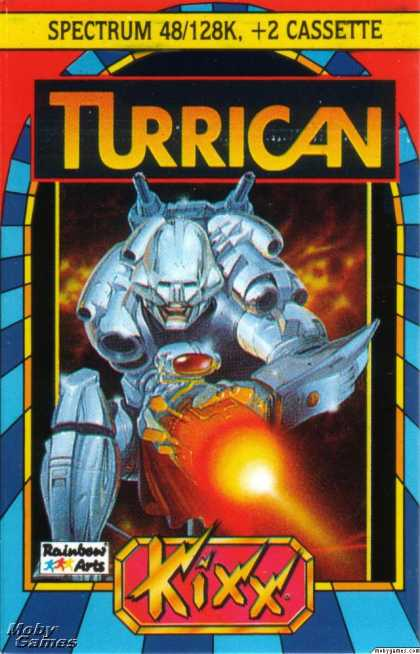 ZX Spectrum Games - Turrican