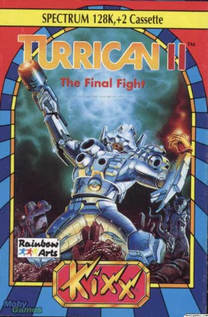 ZX Spectrum Games - Turrican II: The Final Fight