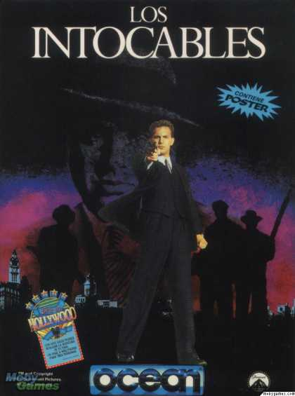 ZX Spectrum Games - The Untouchables