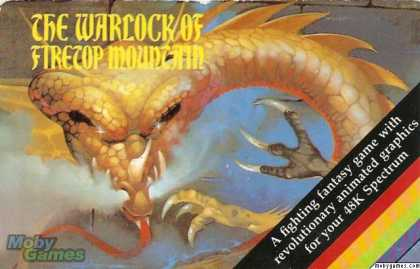 ZX Spectrum Games - The Warlock of Firetop Mountain
