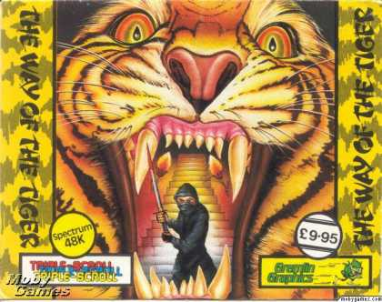ZX Spectrum Games - The Way of the Tiger