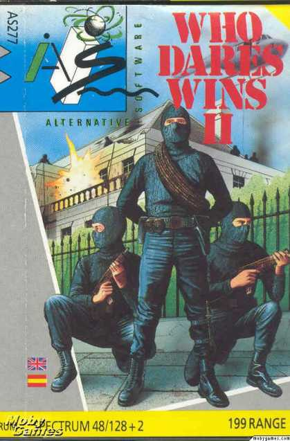 ZX Spectrum Games - Who Dares Wins II