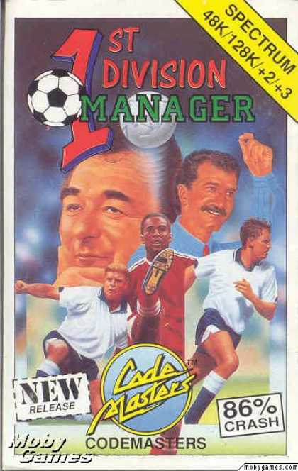 ZX Spectrum Games - 1st Division Manager