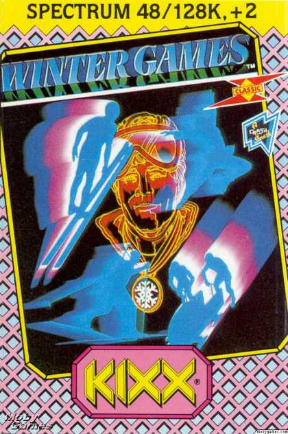 ZX Spectrum Games - Winter Games