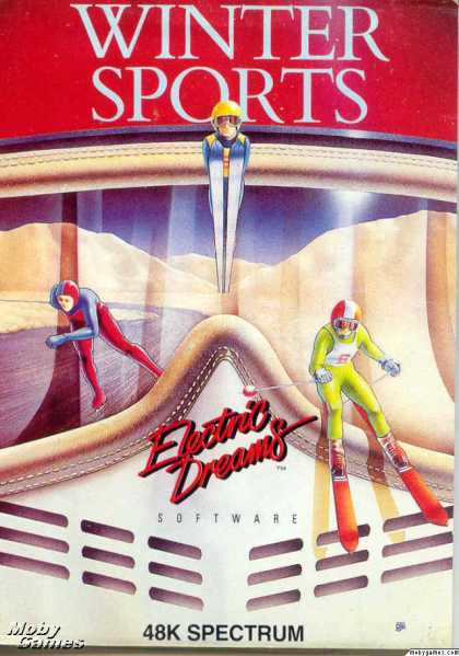 ZX Spectrum Games - Winter Sports