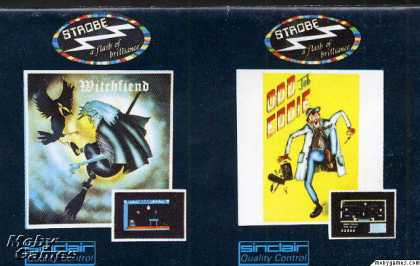 ZX Spectrum Games - Witchfiend / Odd Job Eddie