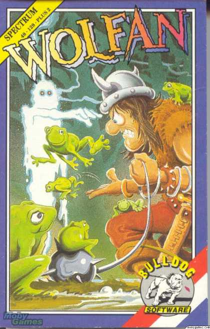 ZX Spectrum Games - Wolfan