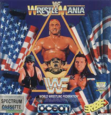 ZX Spectrum Games - WWF Wrestlemania