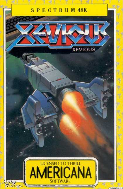 ZX Spectrum Games - Xevious
