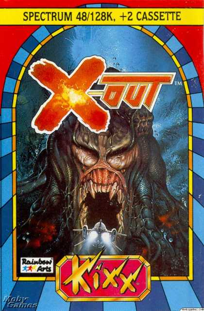ZX Spectrum Games - X-Out