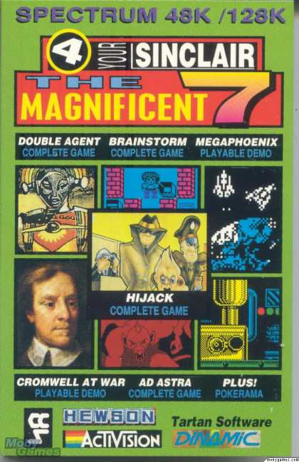 ZX Spectrum Games - Your Sinclair Magnificent 7 July 1991