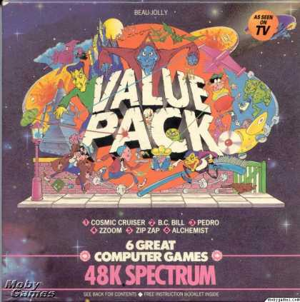ZX Spectrum Games - Beau Jolly 48K Value Pack