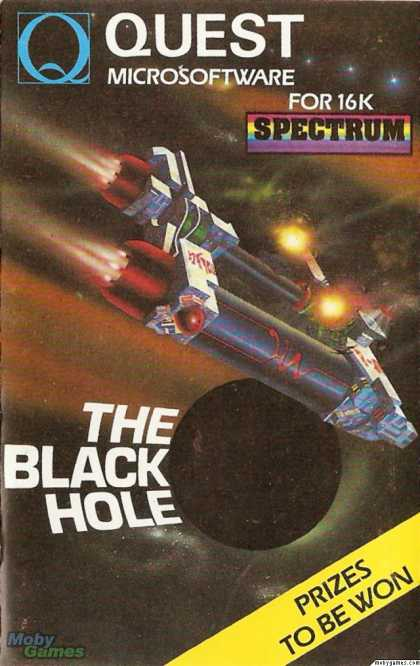 ZX Spectrum Games - The Black Hole
