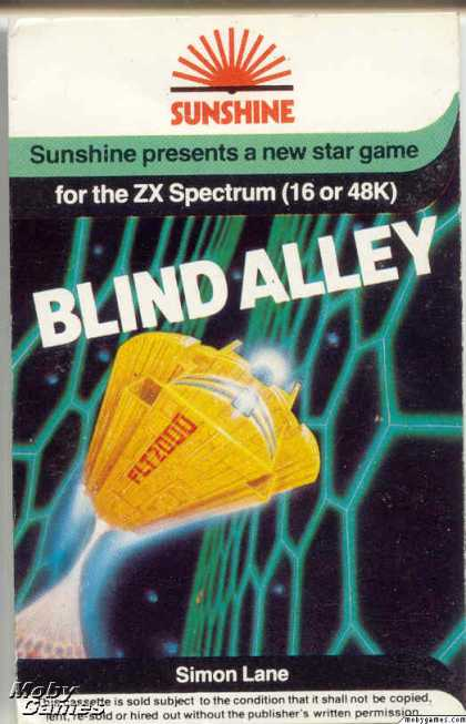 ZX Spectrum Games - Blind Alley
