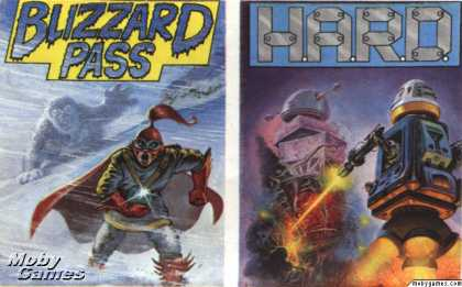 ZX Spectrum Games - Blizzard Pass + H.A.R.D.