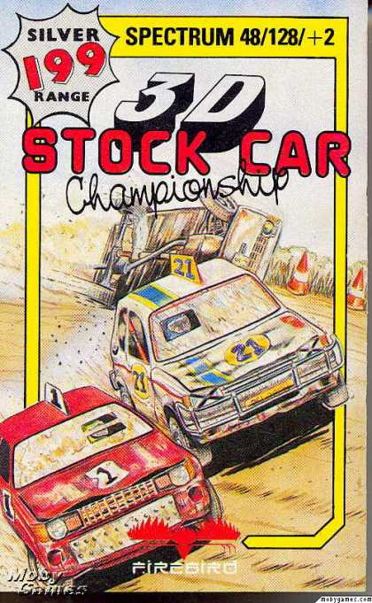 ZX Spectrum Games - 3D Stock Car Championship