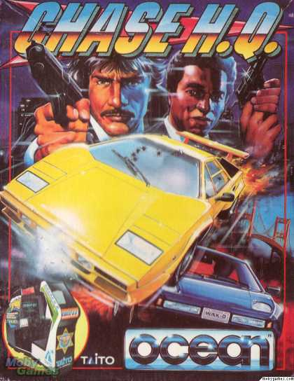 ZX Spectrum Games - Chase H.Q.