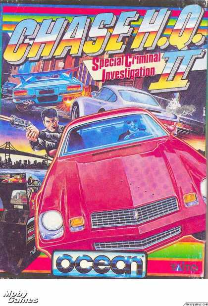 ZX Spectrum Games - Chase H.Q. II: Special Criminal Investigation