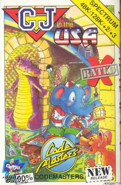 ZX Spectrum Games - CJ In the USA