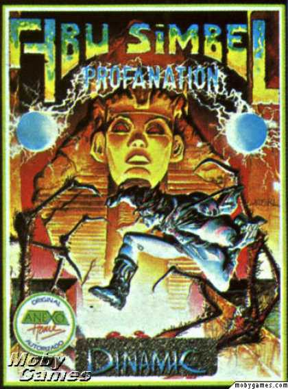 ZX Spectrum Games - Abu Simbel Profanation