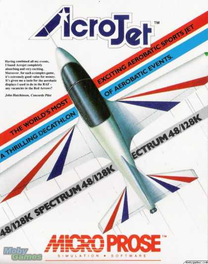 ZX Spectrum Games - Acrojet
