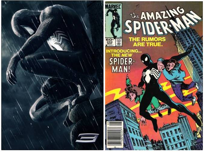 Black Spiderman Comic In the comic books  the black